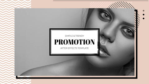 Trendy Promo After Effects Template
