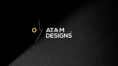 Logo & Title Reveal Scribble Grunge After Effects Template