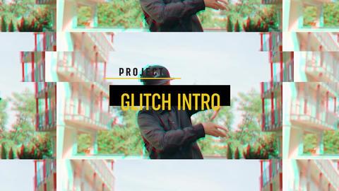 Glitch Intro Premiere Pro Template