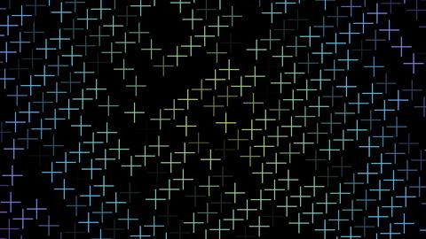 Abstract colorful geometric graphpic Acción en vivo