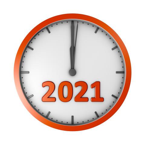 Round clock 2020 Photo