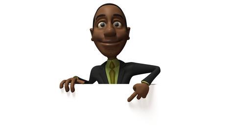 Black businessman Live Action