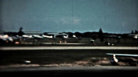 Airport Orient Circa 1960 vintage film HD 0077 Footage
