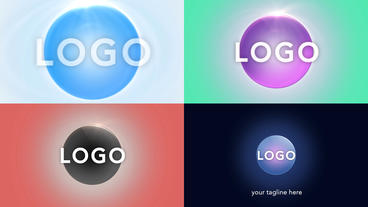 Clean Sphere Logo - After Effects Template After Effectsテンプレート