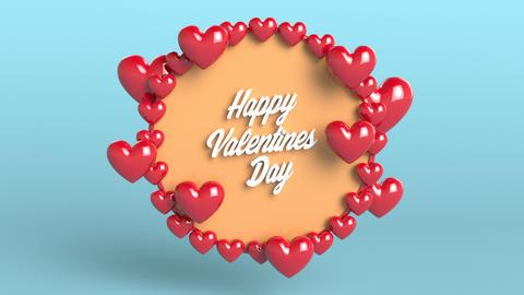 Happy Valentine's Day, love, romance Animation