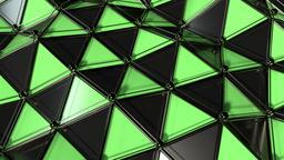 Elegant Polygon Waves Animation