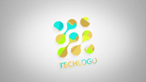 Unfolding Logo Reveals Premiere Pro Template