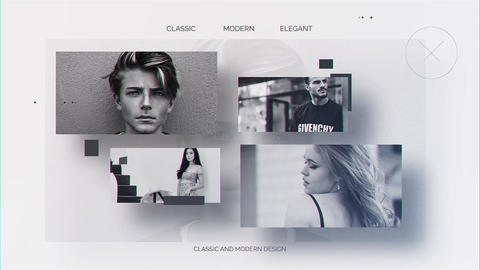 Parallax Gallery After Effects Template