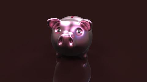 Piggy bank Animation