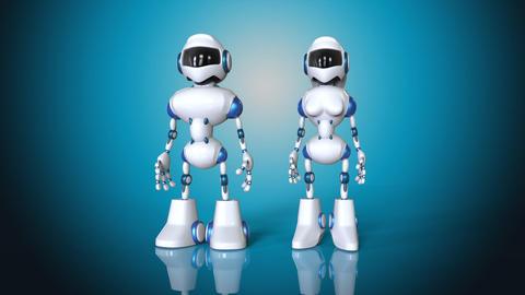 Robots Animation
