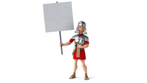 Roman soldier Animation