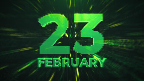 Happy Defender Day of the Fatherland on 23 February Live Action