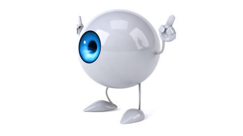 Eye dancing Animation