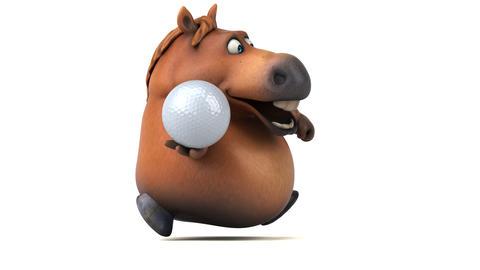 Fun horse - 3D Animation Animation