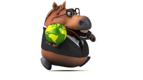 Fun horse - 3D Animation GIF