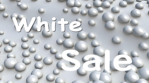 Sale logo for the winter Animation