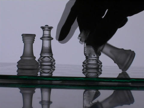 A chess player wins the match Live Action