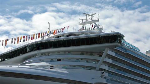Cruise ship bow navigation command bridge HD 7968 Live Action