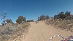 Driving ATV sand desert follow motorcycles crash HD 004 Footage