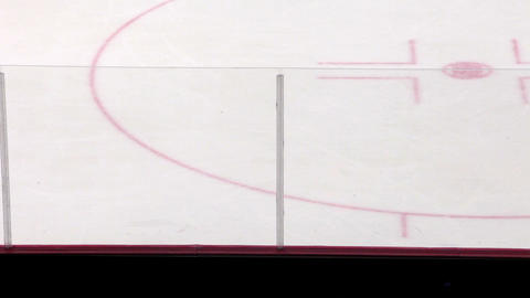 Silhouettes of fans in the background ice hockey rink Footage