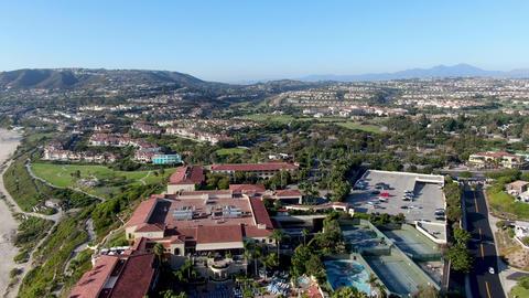 Aerial view of Salt Creek and Monarch beach coastline, California Live Action