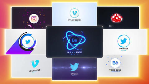 Logo Reveal Pack After Effects Template