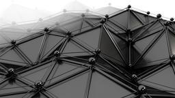 Elegant Black Polygons 4 Animation