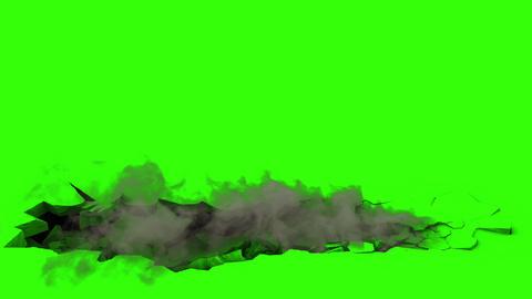 Ground Destruction V3 with Smoke Animation