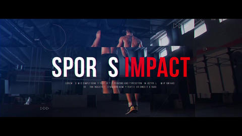 Sports Impact After Effects Template
