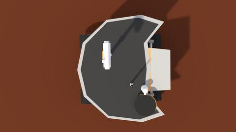 Low Poly Cartoony Planet Rover 2 Modelo 3D