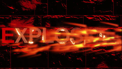 Fire Text After Effects Template