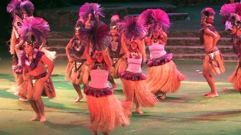Hawaii polynesian Tahiti dancers Sound M HD Live Action