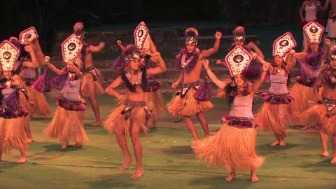 Hawaii polynesian Tahitian dance M HD Live Action