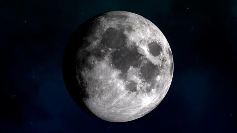 Moon (full moon cycle) Animation