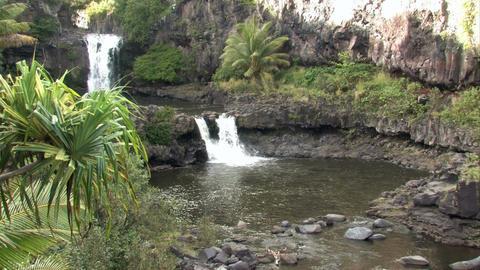 Maui Seven Pools falls pools Hawaii HD Live Action