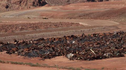 Moab Utah radioactive uranium building cleanup UMTRA 4K Live Action