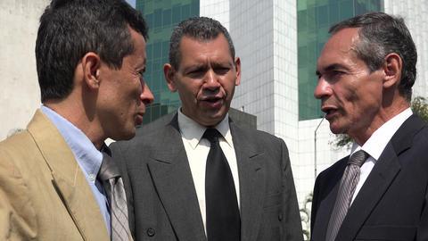 Business Men Talking And Disagreeing Footage