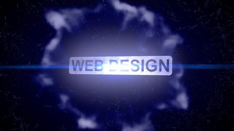 Web design-Energy Burst Logo Animation