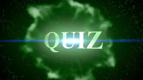 Quiz-Energy Burst Logo Animation
