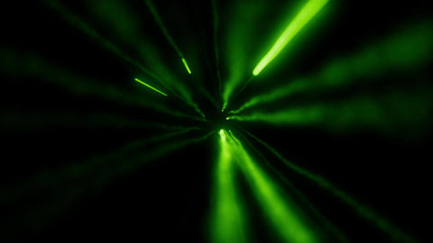 green missile glow particle loop animation Animation