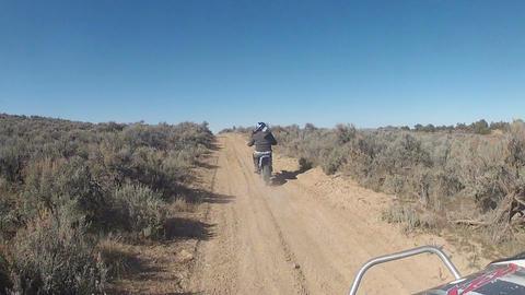 Off road ATV and motorcycle dirt bikes Utah desert HD 003 Footage