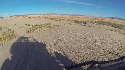 Riding sand dunes sports recreation 4x4 POV HD 380 Live Action