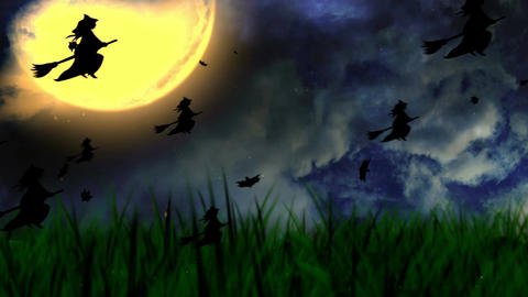 Halloween Background 1 Animation