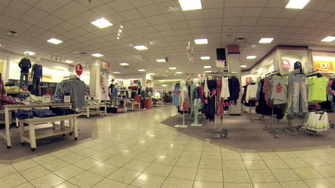 Shopping clothing department store clothes HD 0295 Live Action