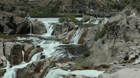 Twin Falls Snake River Shoshone Falls HD 8121 Live Action