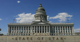 Utah State Capitol Building DCI 4K Footage