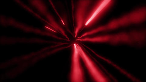 red particle missile trail loop effect Animation