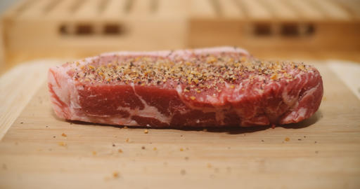 Seasoning the perfect cut of steak Live Action