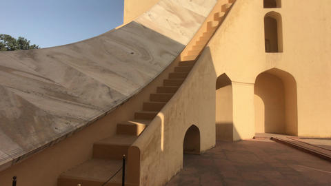 Jaipur, India - interesting historical structure part 4 Live Action
