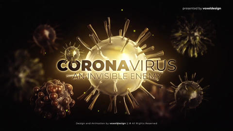 Corona Virus Opener After Effects Template